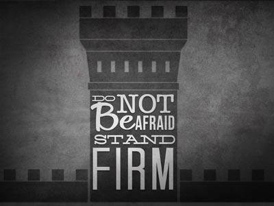 PowerPoint Template on Do Not Be Afraid