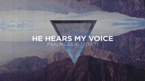 Worship Music Video on He Hears My Voice