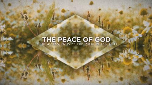 view the Worship Music Video The Peace Of God