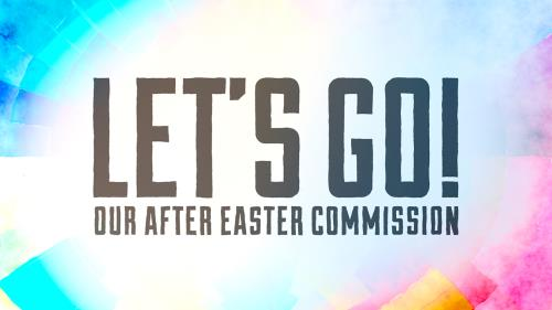 view the Video Illustration Let's Go (Our After Easter Commission)