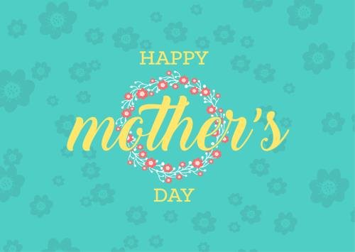 view the PowerPoint Template Mother's Day Floral