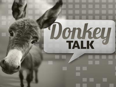 PowerPoint Template on Donkey  Talk