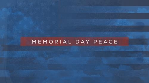 Video Illustration on Memorial Day Peace