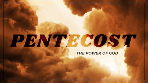 view the PowerPoint Template Pentecost - Power Of God