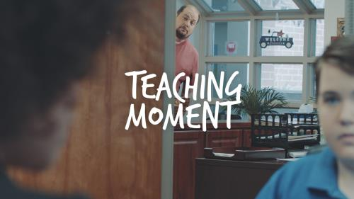 view the Video Illustration Teaching Moment