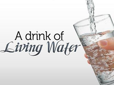 PowerPoint Template on Drink Of  Living  Water