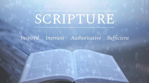 PowerPoint Template on Scripture Powerpoint