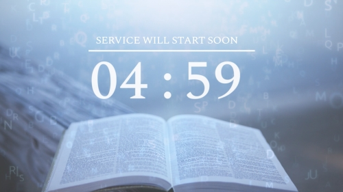 Countdown Video on Scripture
