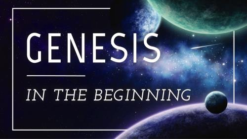 view the PowerPoint Template Genesis | In The Beginning