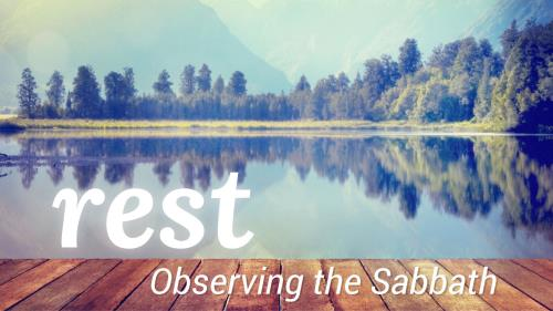 view the PowerPoint Template Sabbath Rest