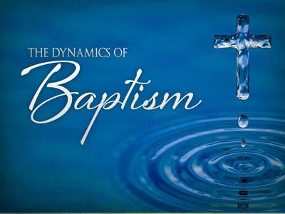 PowerPoint Template on Dynamics Of  Baptism