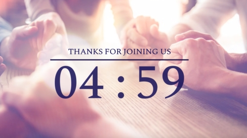 Countdown Video on Christian Community | Life Together In Christ