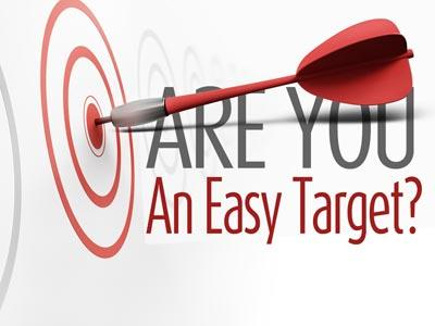 PowerPoint Template on Easy  Target