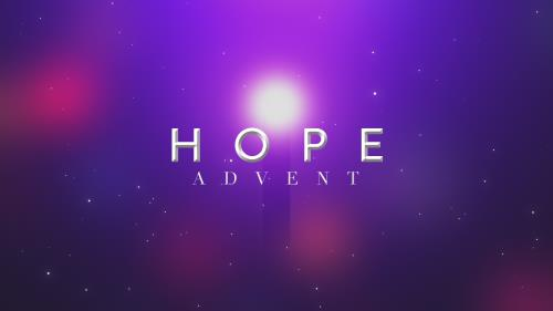 view the Video Illustration Hope (Advent)