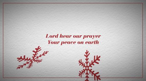 Worship Music Video on Peace On Earth