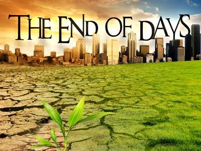 PowerPoint Template on End Of  Days