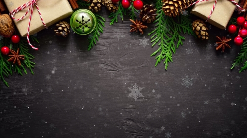 Motion Background on Christmas Traditions