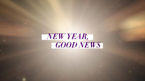 view the Video Illustration New Year, Good News