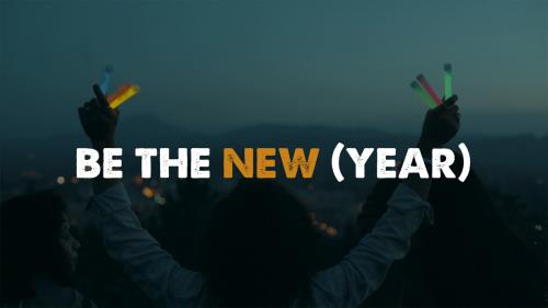 view the Video Illustration Be The New (Year)