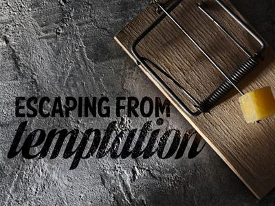 PowerPoint Template on Escaping  From  Temptation