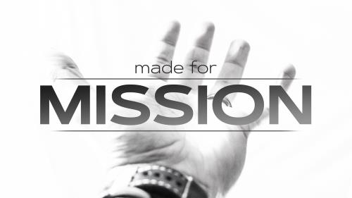 Video Illustration on Made For Mission Series Bumper