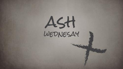 view the PowerPoint Template Ash Wednesday