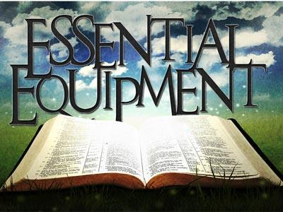 PowerPoint Template on Essential  Equipment  Bible