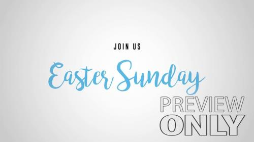 Video Illustration on Easter Sunday Promo