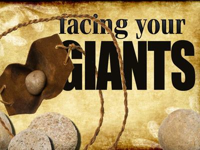 view the PowerPoint Template Facing  Your  Giants