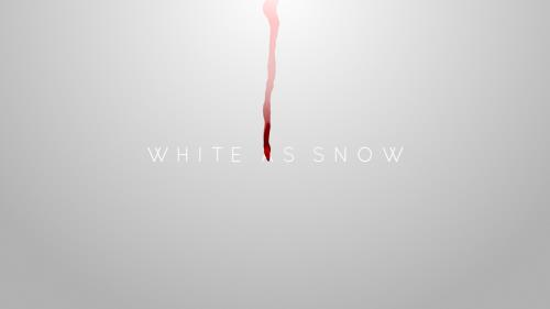 Video Illustration on White As Snow