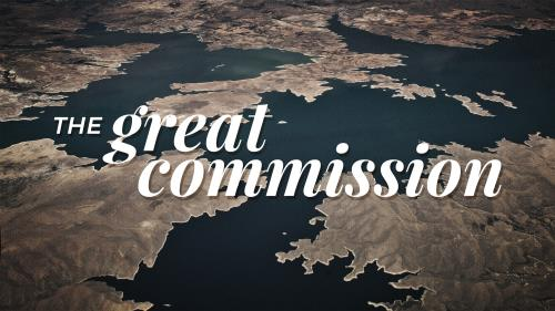 PowerPoint Template on Great Commission - Vintage Earth