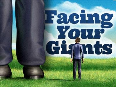 PowerPoint Template on Facing  Your  Giants 2