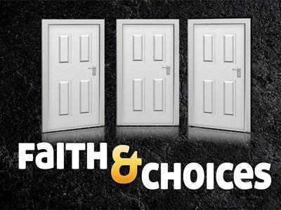 PowerPoint Template on Faith  Choices