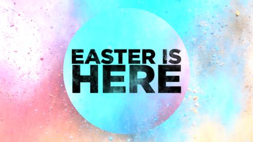 Video Illustration on Easter Is Here