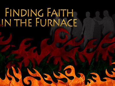 PowerPoint Template on Faith In The  Furnace
