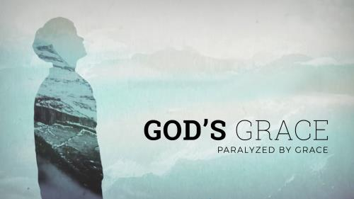 PowerPoint Template on God's Grace Week 2: Paralyzed By Grace (Powerpoint)