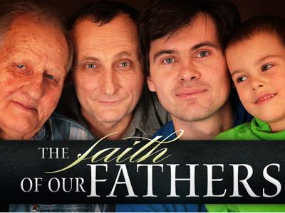 view the PowerPoint Template Faith Of Our  Fathers