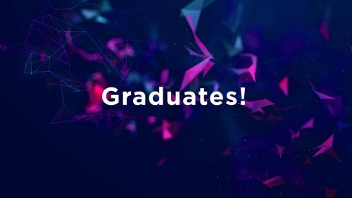 view the Video Illustration Graduation Recognition