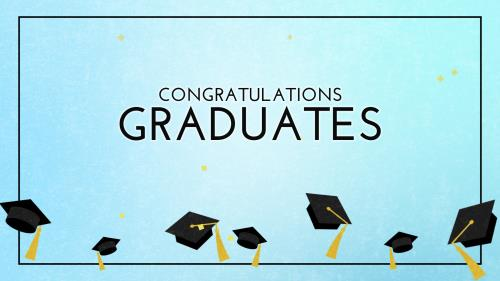 PowerPoint Template on Graduation Celebration