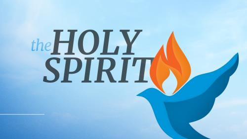 view the PowerPoint Template Holy Spirit