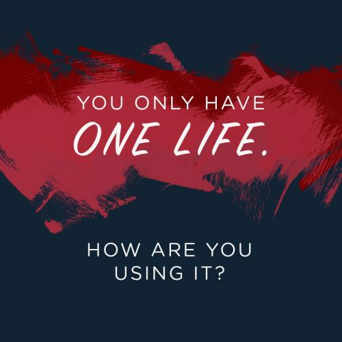 Image on Created For Significance Week 4: How To Invest Your One And Only Life (Social)