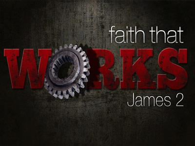 PowerPoint Template on Faith  That  Works