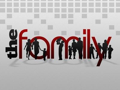 PowerPoint Template on Family  Silhouettes