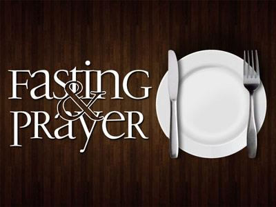 view the PowerPoint Template Fasting And Prayer