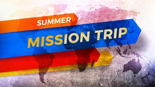 PowerPoint Template on Summer Mission Trip