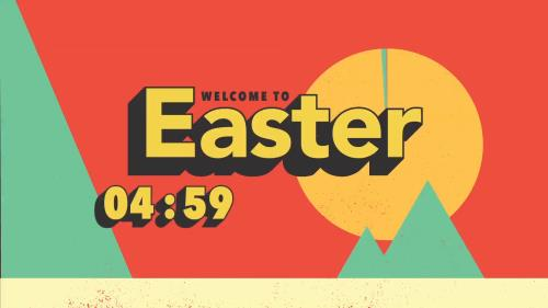 view the Countdown Video Easter Welcome Countdown