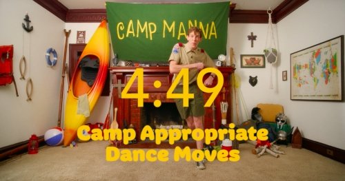 Video Illustration on Camp Appropriate Dance Moves