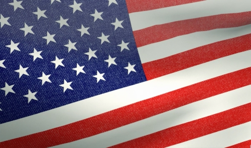 view the Motion Background American Flag Loop 1