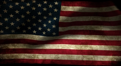 view the Motion Background American Flag Loop 6