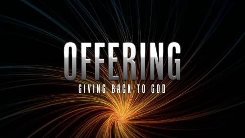 Motion Background about offering - SermonCentral com